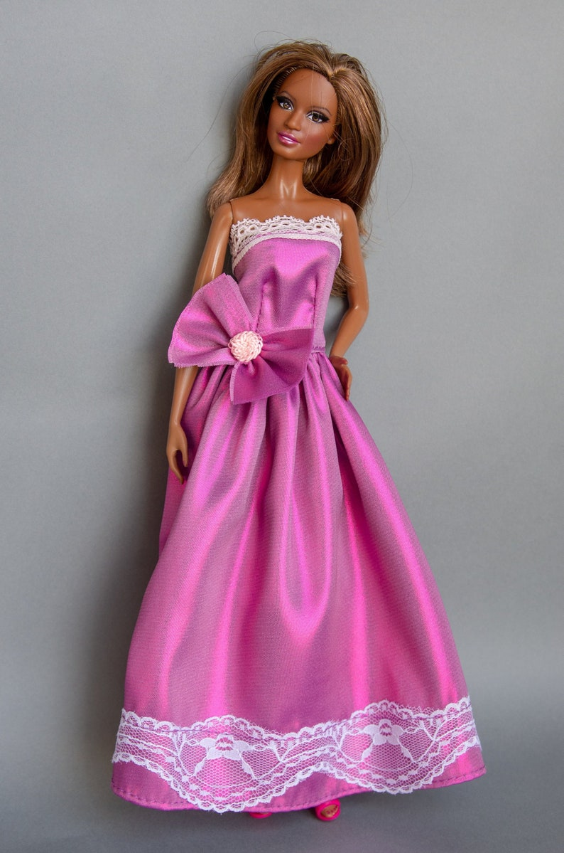 promo code 7b376 9b923 Vestiti di Barbie - Barbie in abito da sera - vestiti per le bambole  Barbie, bambola di 12 pollici, vestiti per le bambole Fashion Royalty,  Poppy ...
