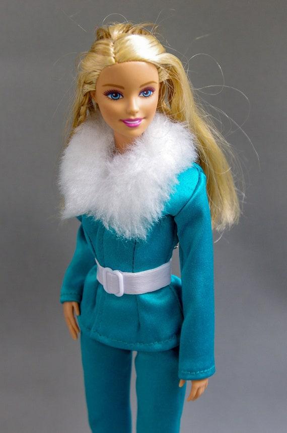 Ken Doll Black Faux Denim Shorts Pants Barbie Clothes Fashionistas Bottoms