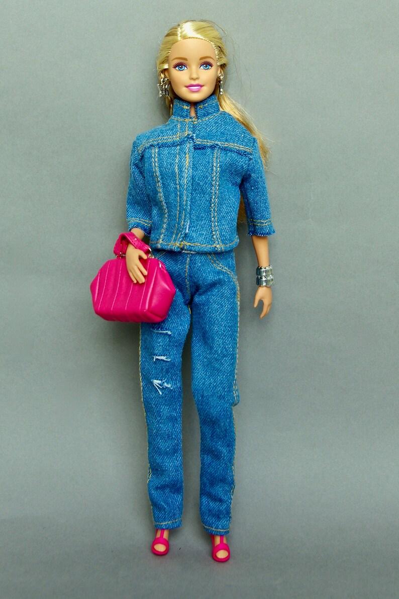 info for 6b0c3 2f623 Vestiti di Barbie - Barbie giacca Barbie Barbie pantaloni denim Barbie