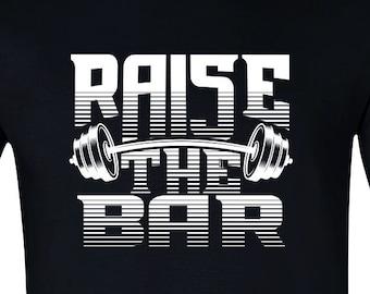 43a1105f4b004 Raise The Bar Mens Workout Tshirt