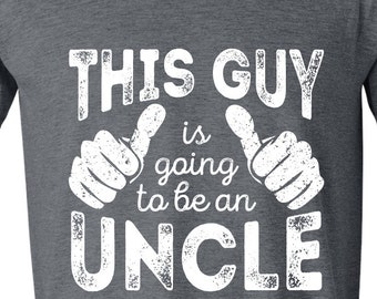 Gifts for Uncle - Uncle Shirts - Uncle Gift - Going to be An Uncle - T-shirts Tshirts GRAY