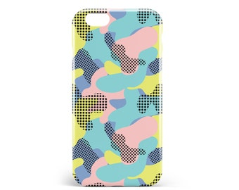Hull Camouflage. PVC. iPhone 4, 4s, 5, 5s, SE, 5 c, 6, 6, 6 Plus 6s Plus, 7 and 7 more, illustration, design, camo, pop, artmars, art