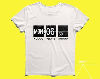 No, please, noo design men tshirt