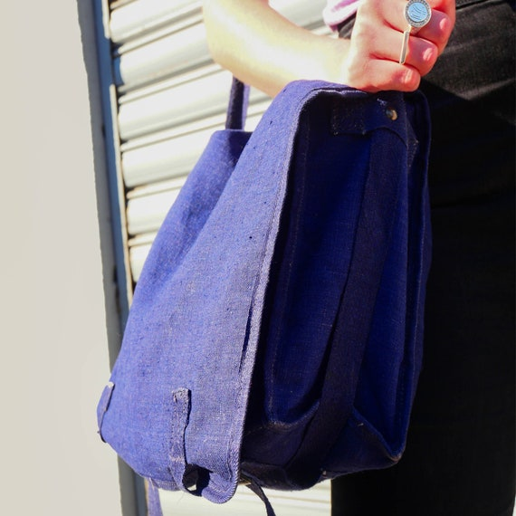 Vintage indigo bag - image 3