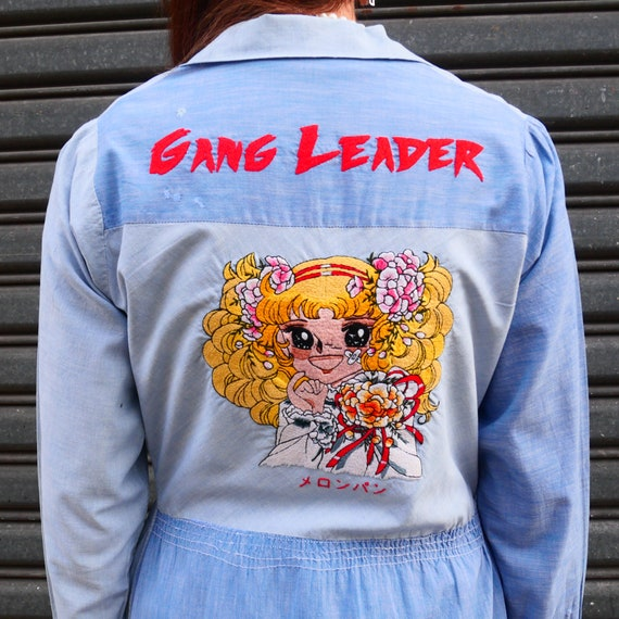 Vintage « Candy Candy » Jacket Embroidered by Hand