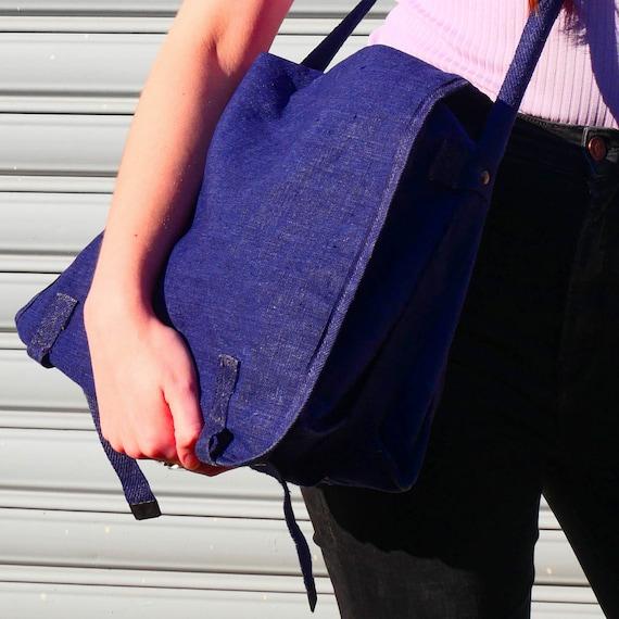 Vintage indigo bag - image 4