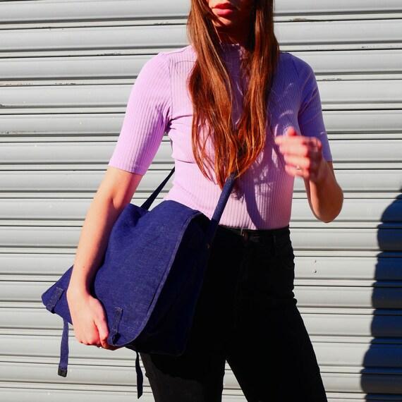 Vintage indigo bag - image 10