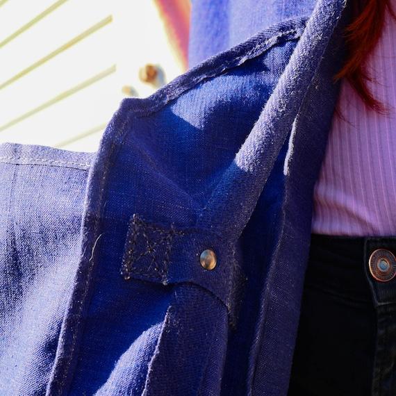 Vintage indigo bag - image 8