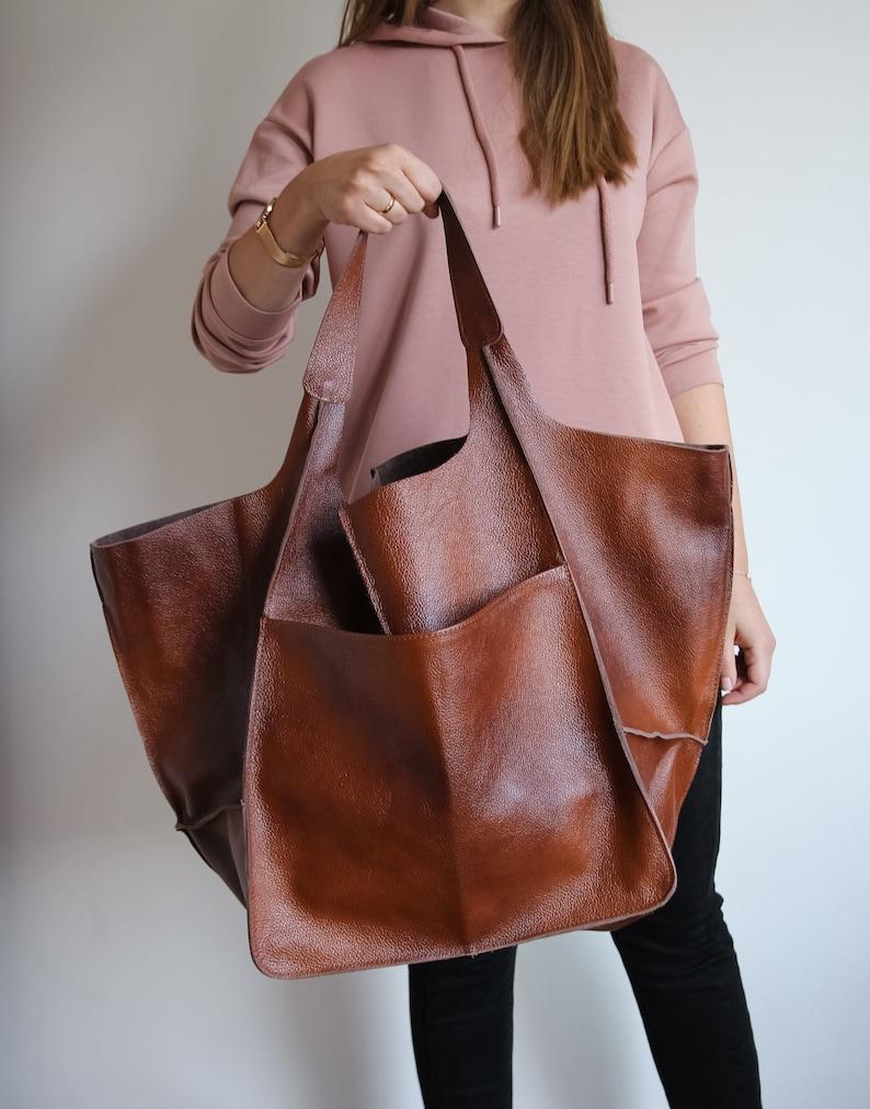 Cognac Handbag for Women