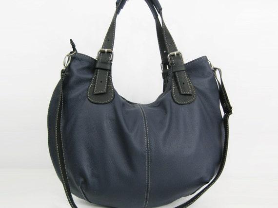 65ad0c96289b Leather HOBO Bag Leather Shoulder Bag Cross Body Handbag