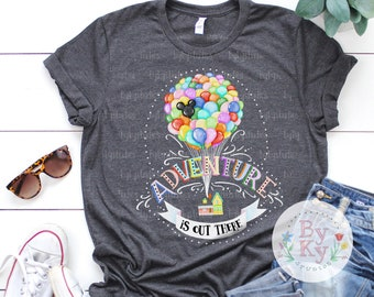 8f9afbf7f Up Movie Inspired 'Adventure is Out There' Quote Unisex T-Shirt