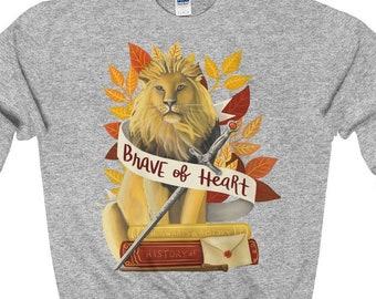 Gryffindor Hogwarts House Harry Potter Crew Neck Unisex Sweatshirt