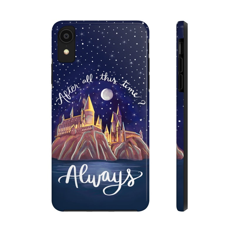 Always Wizarding School Potter Book Lover Case Mate Tough iPhone Samsung Phone Cases