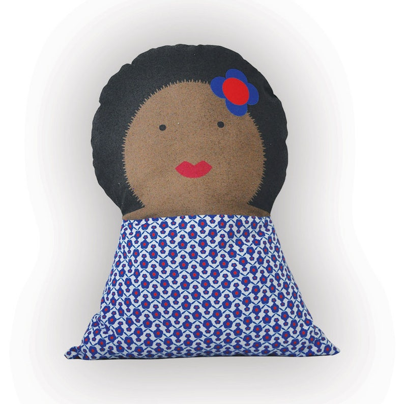 Soft cushion doll  Aretha  for kids bedroom image 0