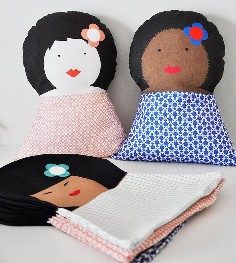 Soft cushion for kids bedroom  Brigitte image 0