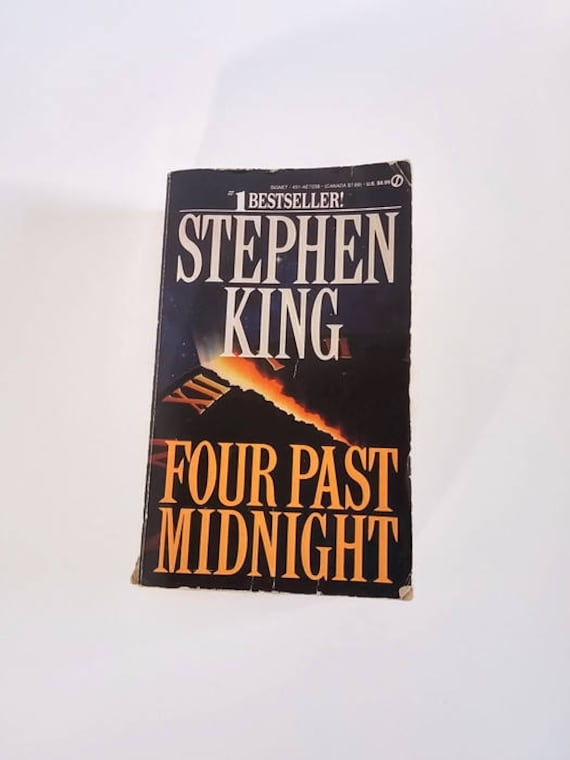 Four Past Midnight By Stephen King Paperback Horror Etsy