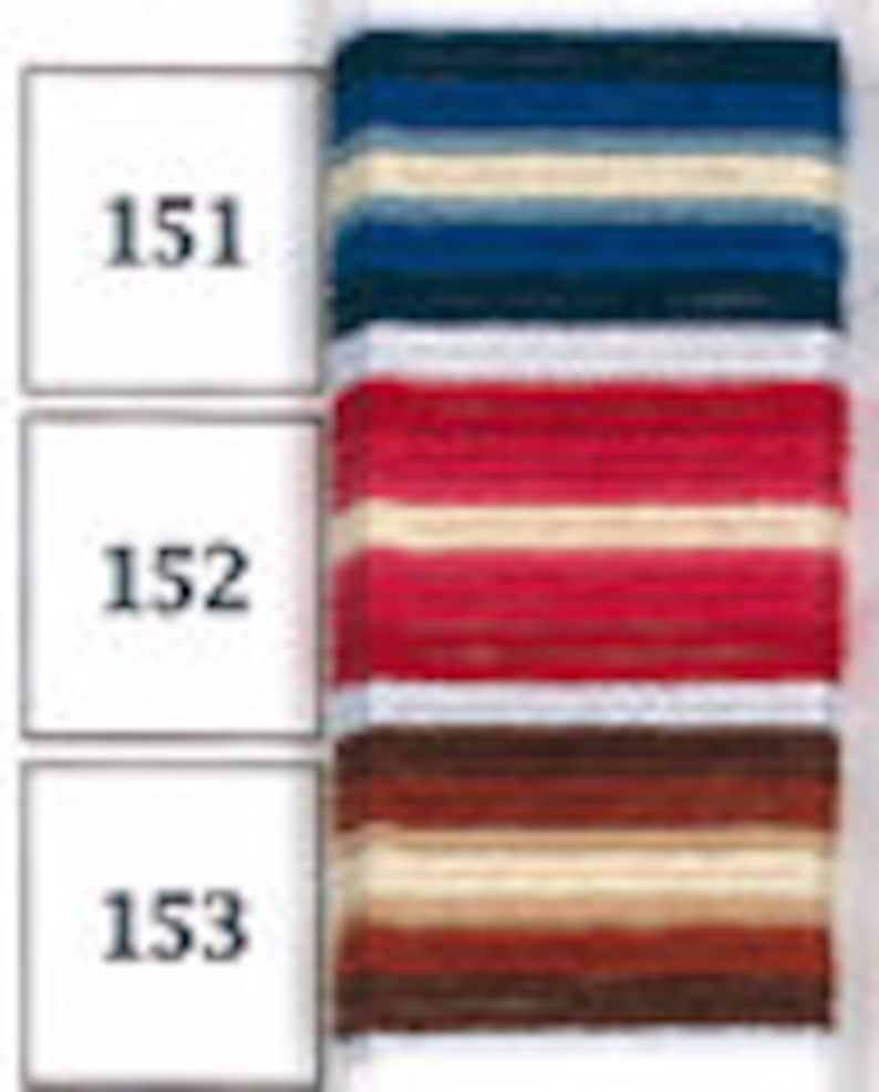 100m skein Olympus Sashiko Thread 3 Ombre Colours Available