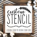 Custom Stencil | Custom Stencils | Multiple Sizes | Reusable Stencils | Ready to use | Get Ready to Paint! |