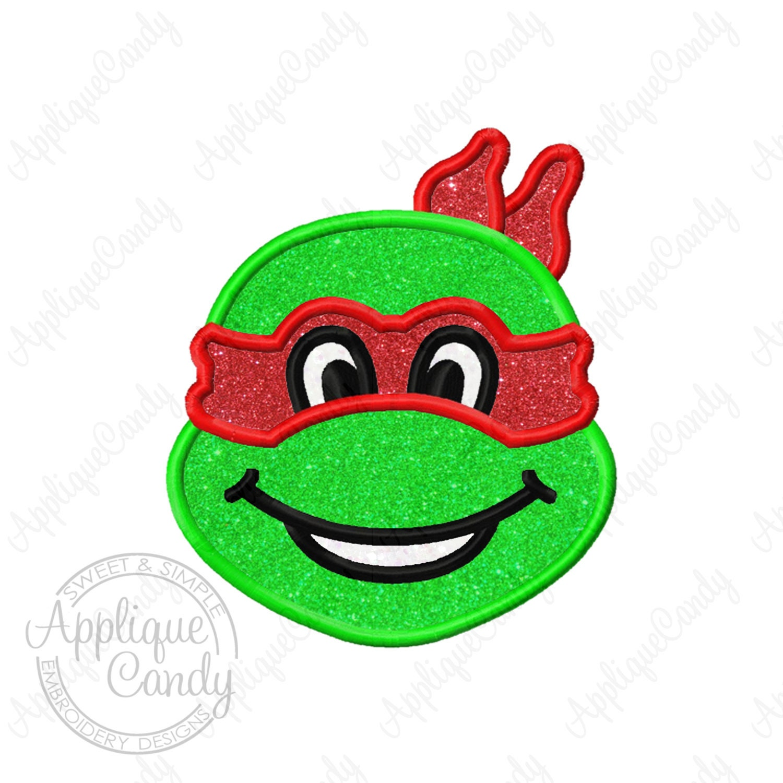 Teenage Mutant Ninja Turtles Applique Design Wwwtopsimagescom