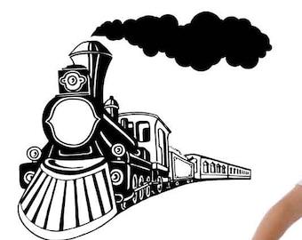 Train Decor Etsy