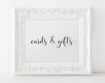 No. CG3 | Cards & Gifts Sign