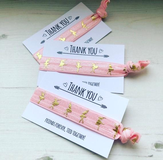 dance gift idea girls dancing birthday party bag filler Ballet dancer bookmark