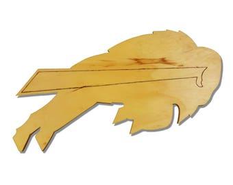 Buffalo Bills Wooden Sign