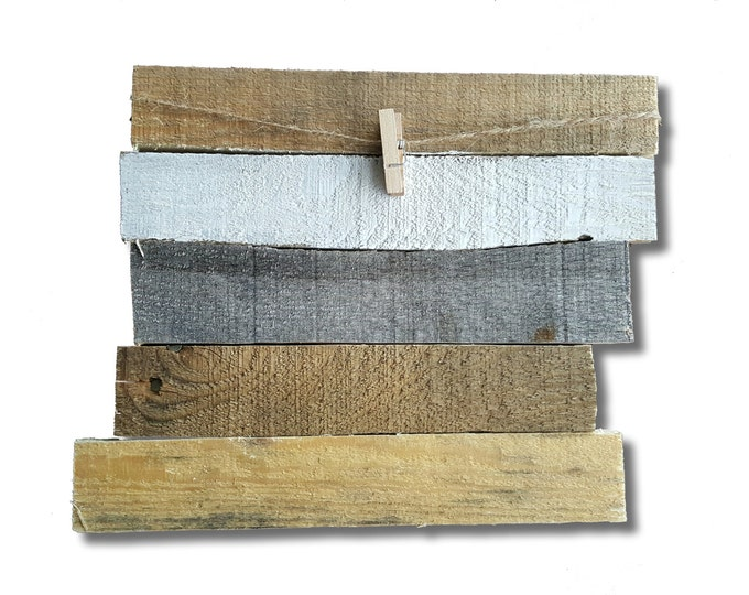 Reclaimed Wood Picture Hanger - Rustic Decor