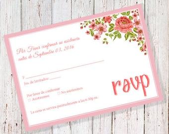 Presentación De 3 Años Invitación Rosa Can Also Be Worded Etsy