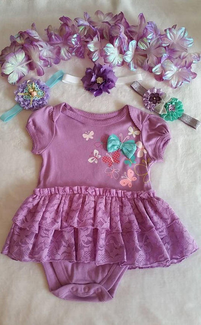 Buy 3 Heabands....FREE 3-6mo Ruffle Dress Baby Clothes ...