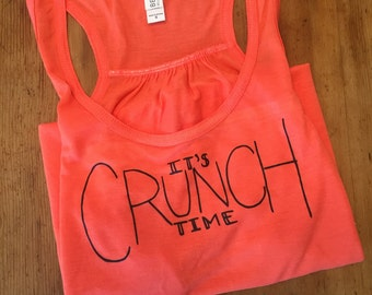 It's Crunch Time Workout Tank