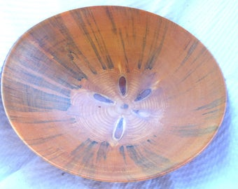 Wood Turned Bowl Norfolk Pine