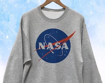 NASA Sweatshirt Gray Unisex - White available