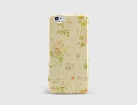 Vintage Floral Wallpaper IPhone Case Retro Flowers