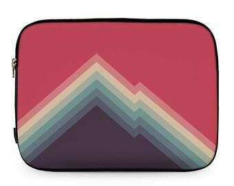 Indie Mountain Print, Indie Design, MacBook Cover, Neoprene Laptop Sleeve, MacBook Case, Laptop Case, Carry Case, Laptop Bag \ ls-pp173