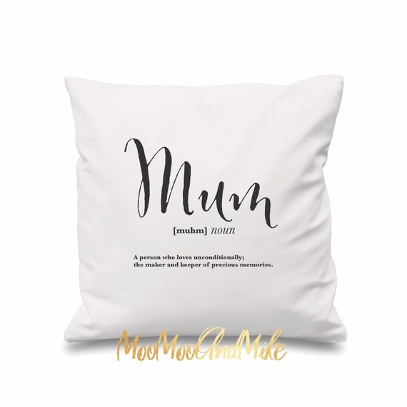 Personalised cushion cover | definition cushion | Personalised pillows | Bedroom decor | Home decor | gifts for mothers