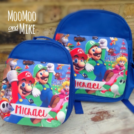 Personalised backpack or lunch bag | Add a Custom design | Personalised school bags | Childrens backpack