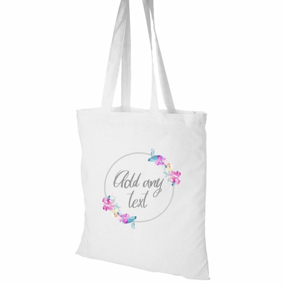 Tote bag | Personalised tote | Wedding gift bag | Hen party | Teacher tote bag | Wedding totes