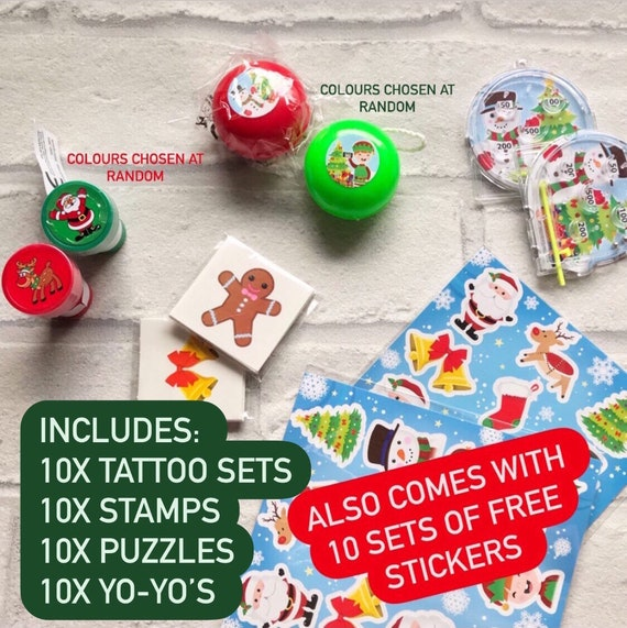 Christmas activity bundle | 40 pieces plus FREE stickers | Christmas games | activities for kids | Stocking fillers | Christmas activity