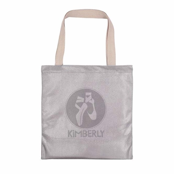 Sparkling tote bag | Personalised tote bags | Ballet bag | Gift bags | Totes | Gym bag | Glitter rainbow totes