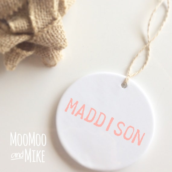 Personalised bauble | Hanging decor | Christmas decor | Ceramic bauble | Christmas decor | Christmas decorations