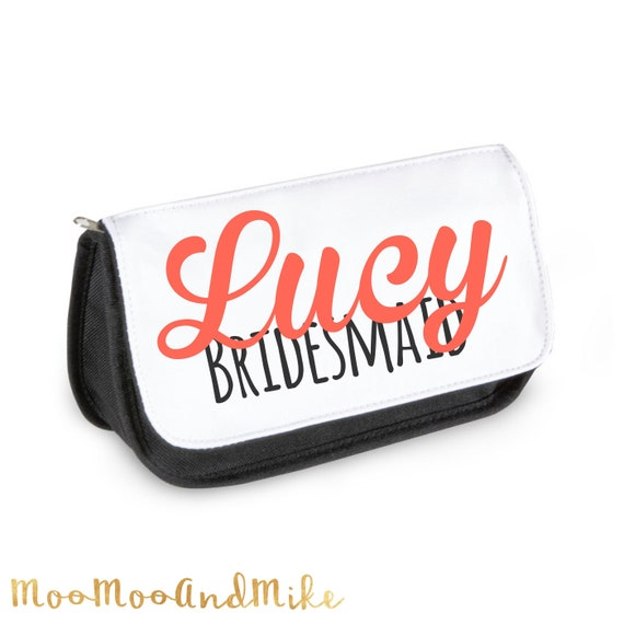 Make up bag | Add any text | Personalised Cosmetic bag | Pouch