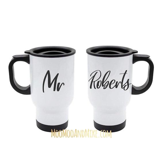 Travel mug | Personalised mug | Add any text | 14oz mugs | Custom mug