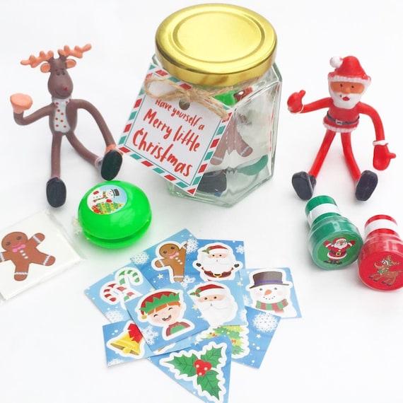 Children's Christmas activity jars | Activity packs | Activity packs for kids | Christmas jars | Christmas table activities