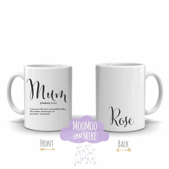 Personalised definition mug | Add any text | Custom mug | Gifts for mother's | Mother's Day gifts