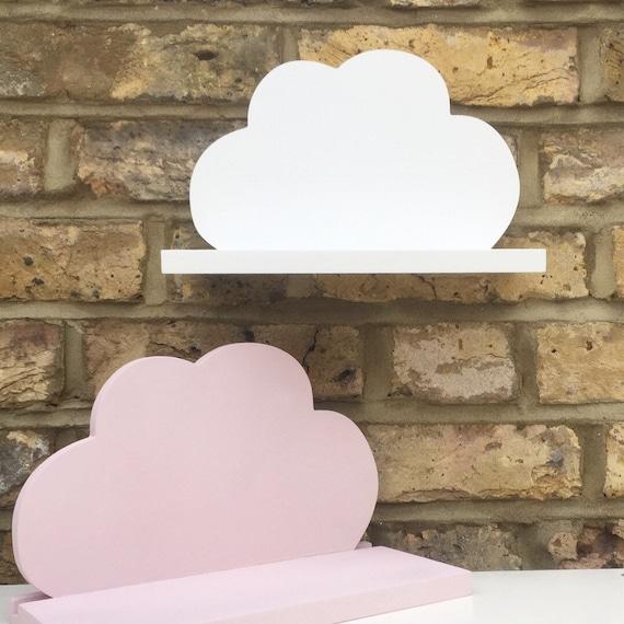 Cloud shelf | Decorative cloud shelf | Cloud decor | Shelf for baby nursery | Childrens bedroom decoration | Cloud shelving