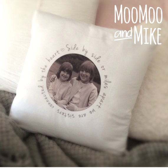 Photo cushion cover | Add any text - quote | Family cushion | Personalised pillows | Bedroom decor | Home decor