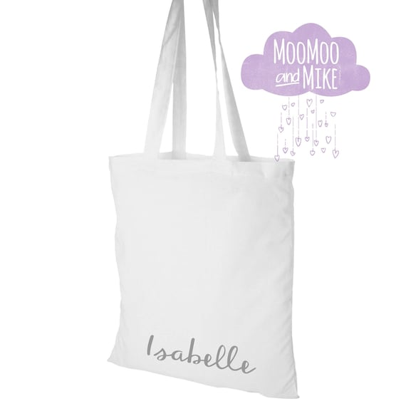 Tote bag | Personalised tote bags | Add any text | Wedding totes | Gift bags | Bridesmaid gift bag