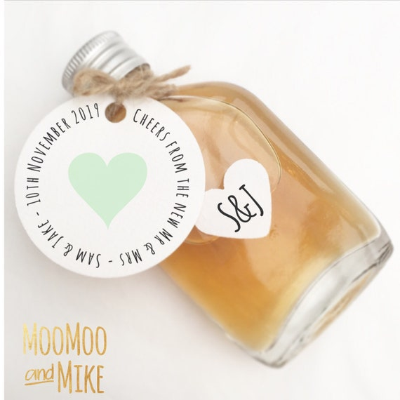 Set of 25 shot bottle favours | Fill your own favours | Shot bottle favours | Wedding favours | Shot favours