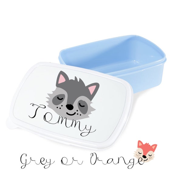 Personalised Fox lunch box | Child's lunchbox | Lunch boxes | School lunch box | Back to school gifts | Snack box